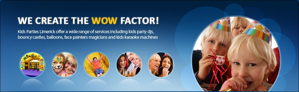 Kids Party DJ, Bouncing Castle Hire Limerick, Karaoke Hire